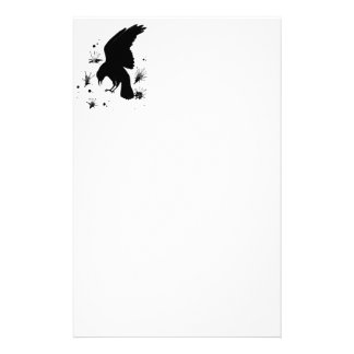 Raven Nevermore Customized Stationery
