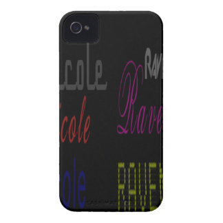 Raven Nicole Apparel Multiple Names iPhone 4 Cover