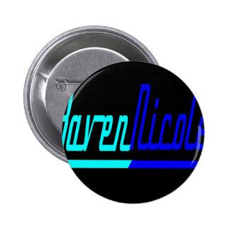 Raven Nicole Logo 2 Inch Round Button