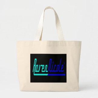Raven Nicole Logo Large Tote Bag