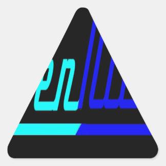 Raven Nicole Logo Triangle Sticker