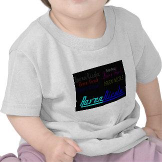 Raven Nicole Regular Logo and Numerous Names Baby T-Shirt