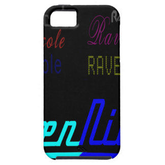 Raven Nicole Regular Logo and Numerous Names iPhone SE/5/5s Case