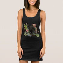 Raven of Fortune Spirit Animal Tank Dress