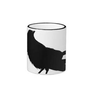 Raven of Love_ Ringer Mug