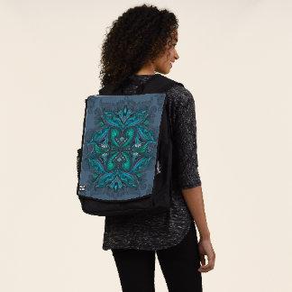 Raven of mirrors, dreams, bohemian, shaman backpack