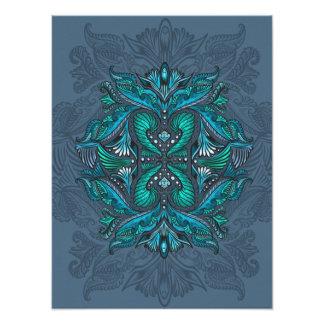 Raven of mirrors, dreams, bohemian, shaman photo print