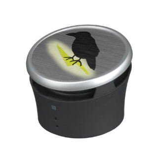 Raven on Lightning Bluetooth Speaker