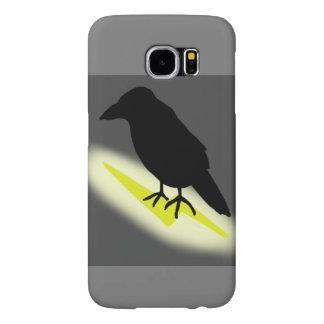 Raven on Lightning Samsung Galaxy S6 Case