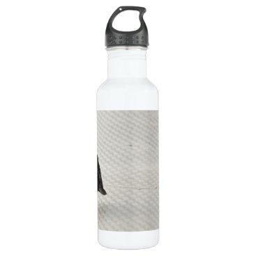 Halloween Themed raven on metall water bottle
