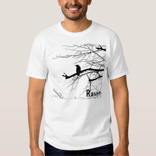 Raven on the Tree Tee Shirt
