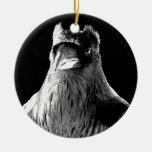 Raven Ornament Personalized Raven Decoration Gift