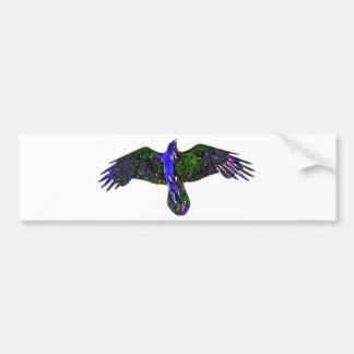 Raven Paint Bumper Sticker
