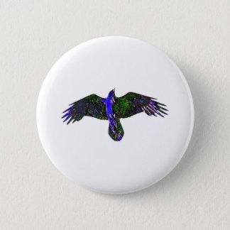 Raven Paint Pinback Button
