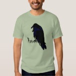 Raven Perched on Raven T Shirt