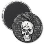 Raven Poe Magnet