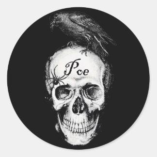 Raven Poe Sticker