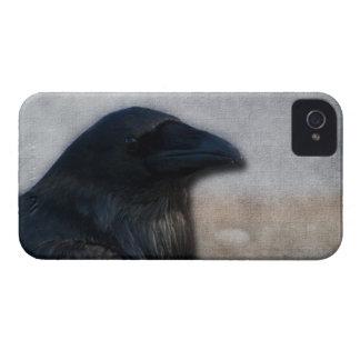 Raven Portrait iPhone 4 Cover