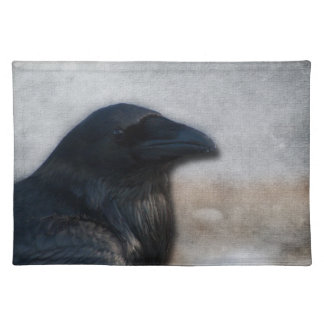 Raven Portrait Cloth Placemat