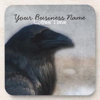 Raven Portrait; Promotional Coaster