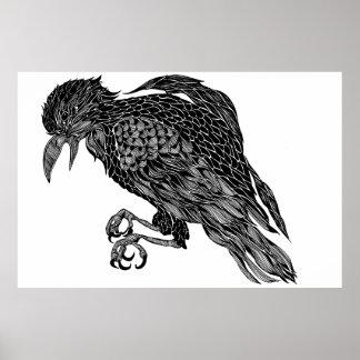 Raven Póster
