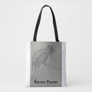 Raven Power Tote Tote Bag