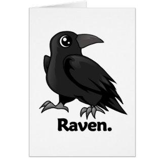 Raven Raven. Card