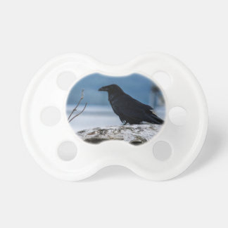 Raven Reflection collection BooginHead Pacifier