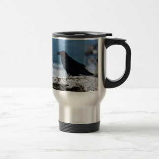 Raven Reflection collection Travel Mug