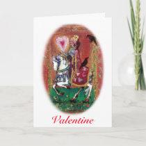Raven Renaissance Valentine Holiday Card