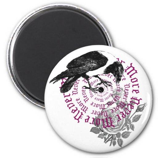 Raven & Rose 2 Inch Round Magnet