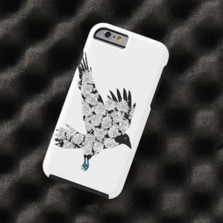 Raven & Roses Tattoo Illustration iPhone 6 Tough iPhone 6 Case