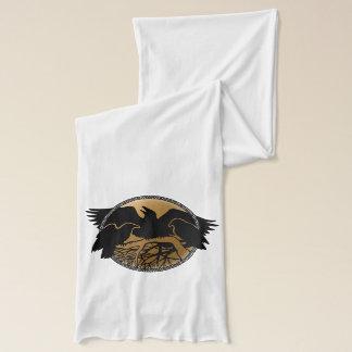 Raven Scarf Raven Bird Scarves Crow Raven Gift