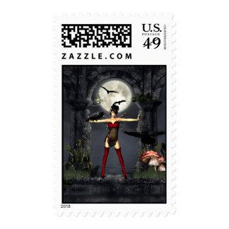 Raven Secrets Stamp