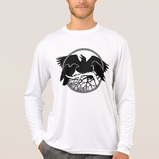 Raven Shirts Raven Cool Crow Fitted Bird Jersey