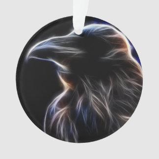 Raven Silhouette Ornament