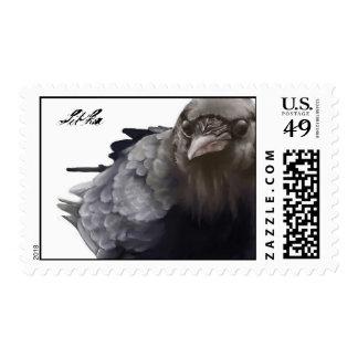 Raven, Sitka Postage