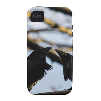 Raven Soul Mates a gift collection iPhone 4 Covers