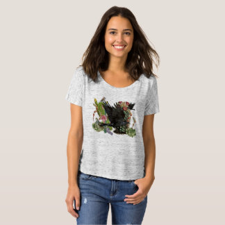 Raven Spirit Animal Slouchy T-Shirt
