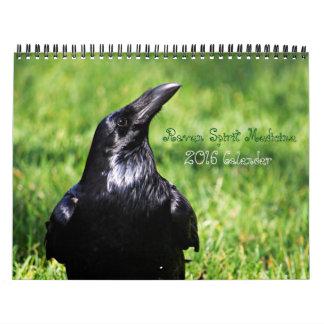 Raven Spirit Messages 2016 Calender Calendar