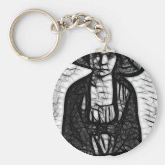 Raven Stare Keychain