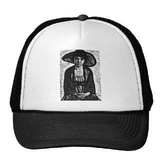 Raven Stare Trucker Hats