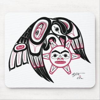 Raven Stealing the Sun Mouse Pad