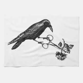 Raven Steals the Rose Towel