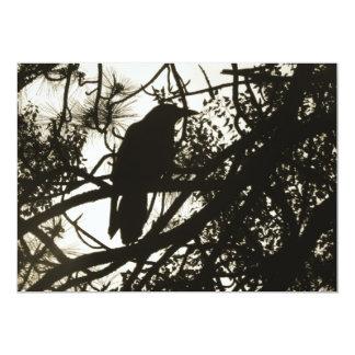 Raven Steampunk Card