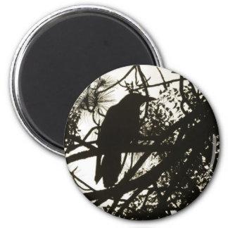 Raven Steampunk Magnet