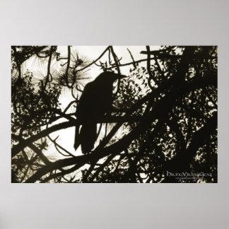 Raven Steampunk Poster
