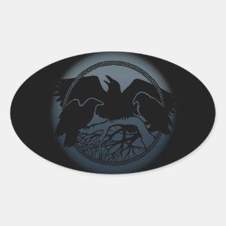 Raven Stickers Native Wildlife Raven Art Stickers