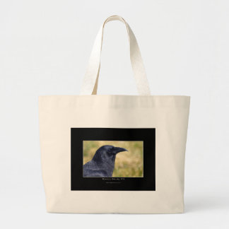 RAVEN STUDY Collection Large Tote Bag