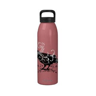 Raven & Swirls Water Bottle